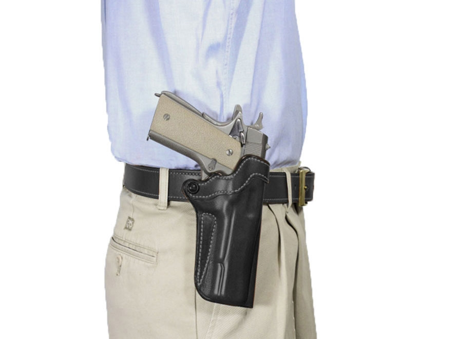 "DeSantis Top Cop 2.0 Paddle and Belt Holster Springfield Armory XDS 3.3"" Leather"