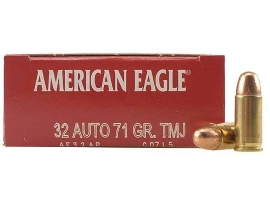 American Eagle Rebate >> Federal American Eagle Ammo 32 ACP 71 Grain Total Metal ...