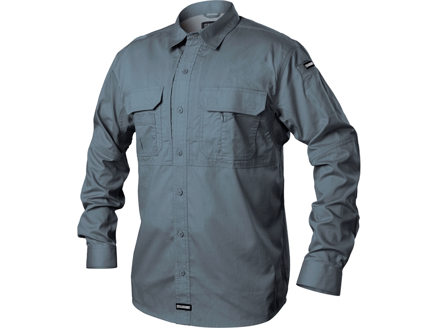 BLACKHAWK! Men's Pursuit Button-Up Shirt Long Sleeve Poly/Cotton Ripstop