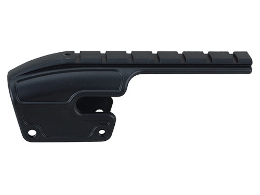 Weaver No Gunsmith Saddle Mount for Remington 870, 1100, 11-87 Matte