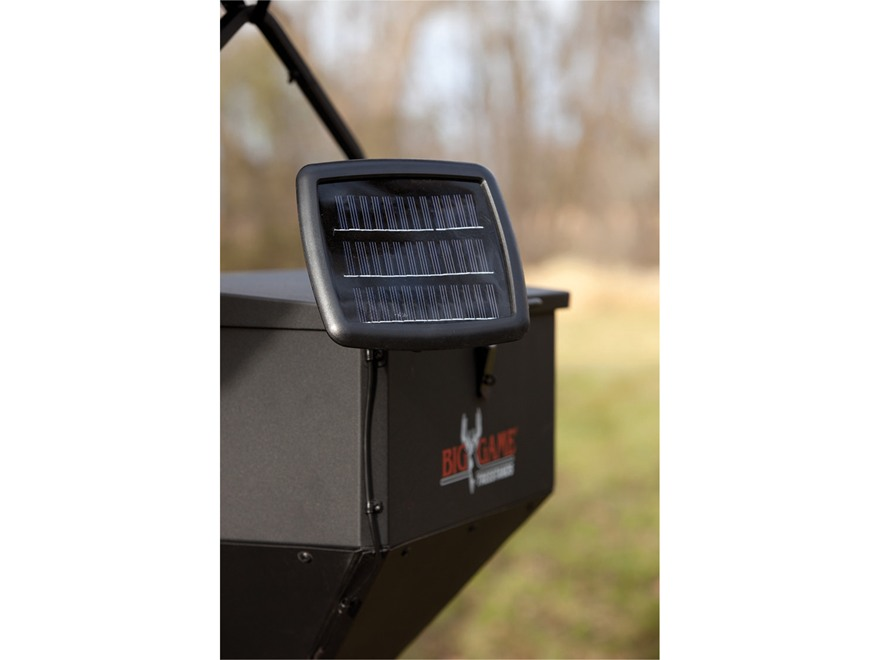 Big Game Feeder 12 Volt Solar Battery Charging Panel