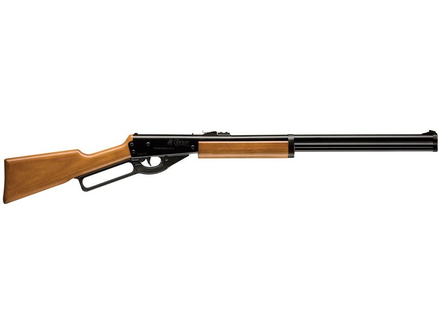 Benjamin Sheridan Cowboy Lever Action Youth Air Rifle 177 Caliber BB Wood Stock Matte B...