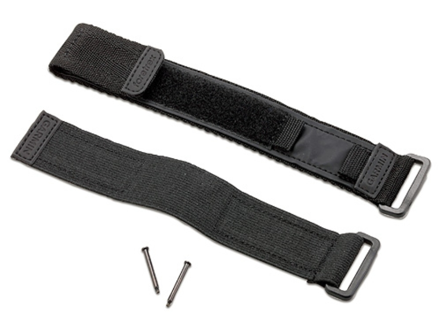 Garmin Hook-&-Loop Fastener Wrist Strap fits Foretrex Models Nylon Black