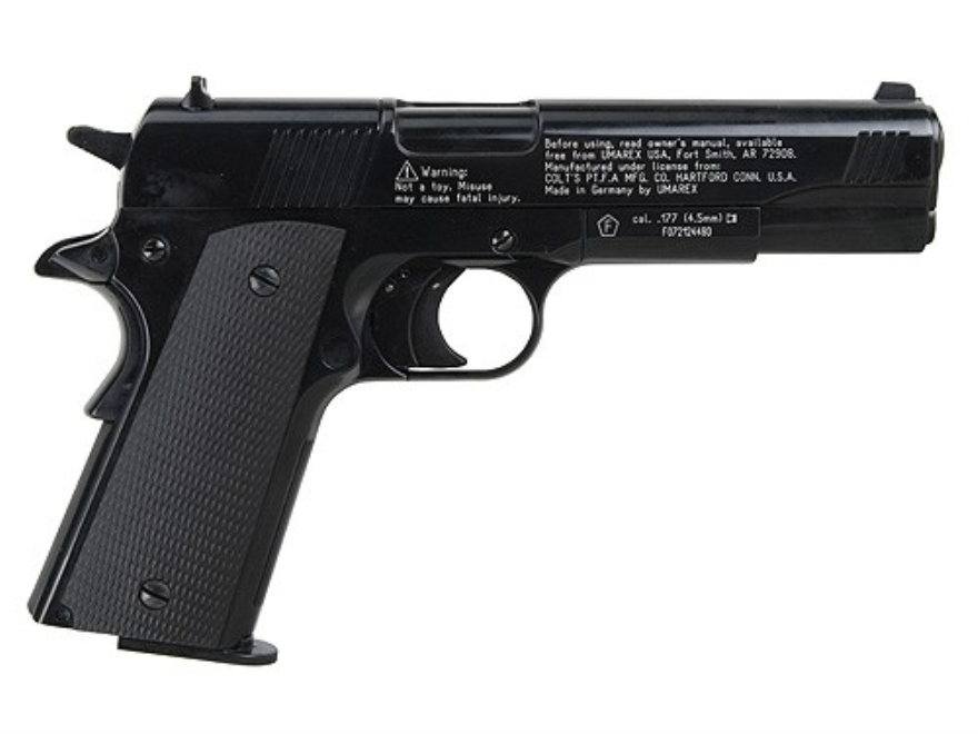 Colt 1911 A1 Air Pistol 177 Caliber Pellet Blue