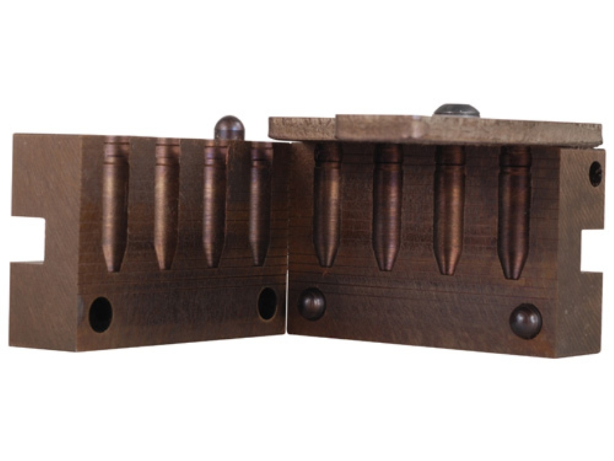 Saeco 4-Cavity Bullet Mold #270 270 Caliber (278 Diameter) 140 Grain Truncated Cone Gas...