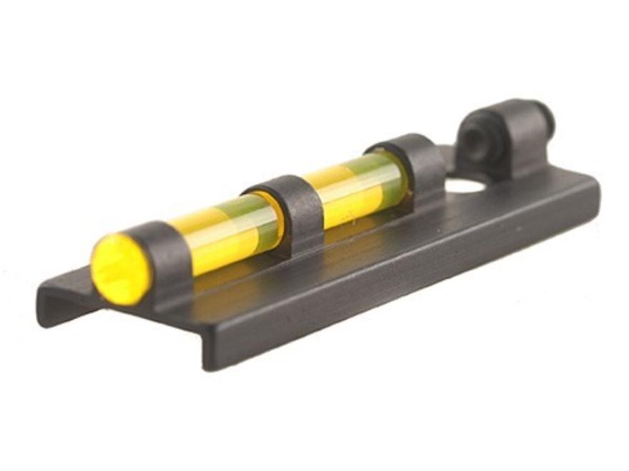 "Williams Fire Sight Ventilated Rib Width 3/8"" Aluminum Black Fiber Optic Yellow"
