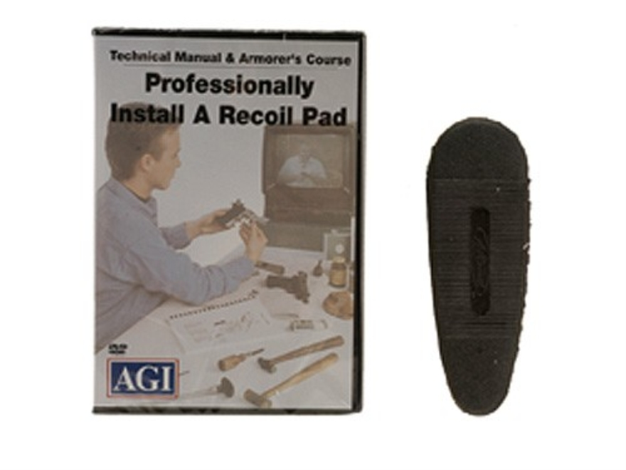 "American Gunsmithing Institute (AGI) Video ""Recoil Pad Installation"" DVD"
