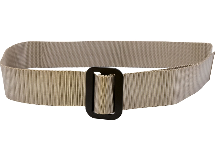 "Military Surplus Rigger's Belt Grade 1 1-3/4"" Nylon Sand Up To 44"""