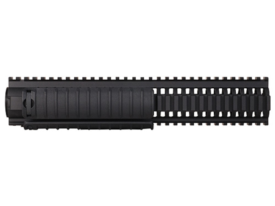 Colt RIS Handguard Quad Rail Colt AR-15 22 Tactical Rimfire Rifle Length Aluminum Black