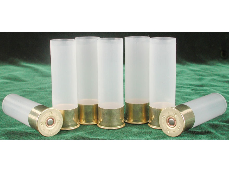 "BPI Multi-Hull Shotshell Hulls 12 Gauge 2-3/4"" Primed Skived Bag of 100"