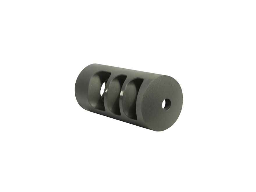 "Holland's Radial Baffle Quick Discharge Muzzle Brake 3/4""-28 Thread .800""-1.240"" Barrel..."