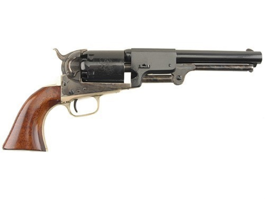 "Uberti 1848 3rd Model Dragoon Black Powder Revolver 44 Caliber 7.5"" Barrel Steel Frame ..."
