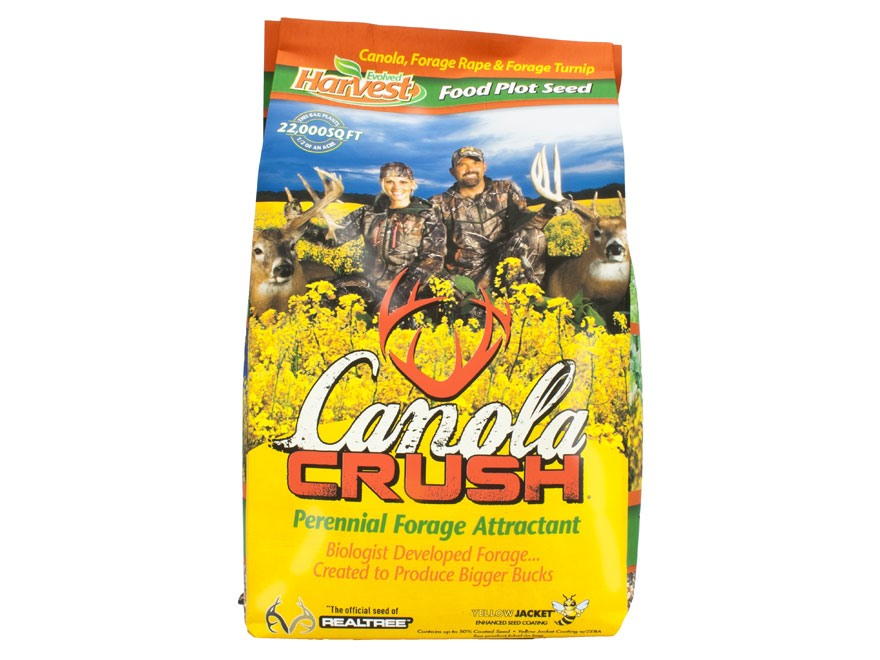 Evolved Harvest Canola Crush Food Plot Seed 4 lb