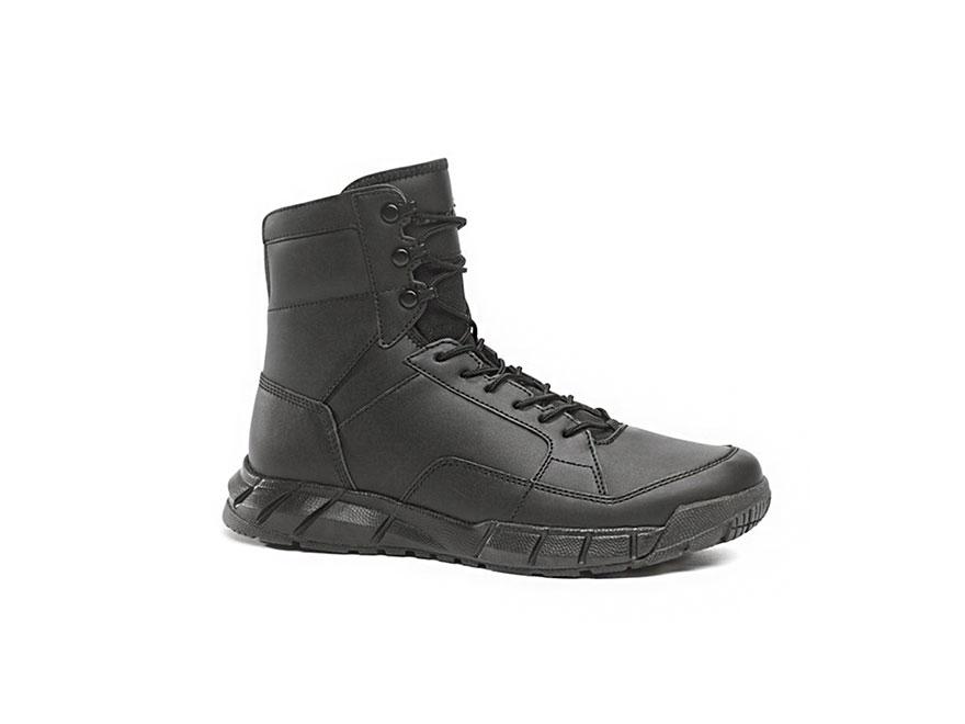 "Oakley Light Assault 8"" Tactical Boots Leather Black Men's"
