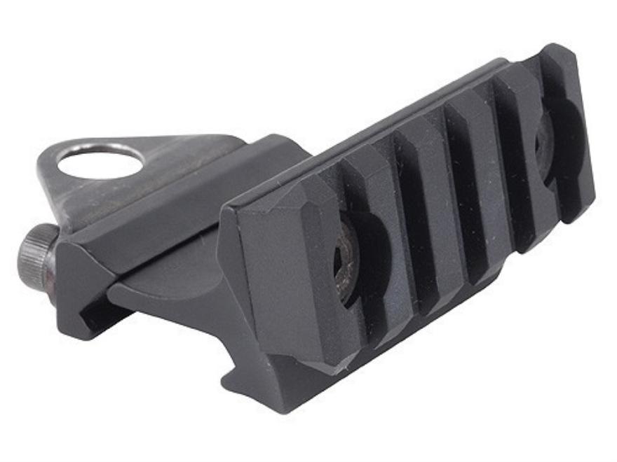 Krebs Custom Guns Offset Picatinny Rail Grip Adapter Aluminum Matte
