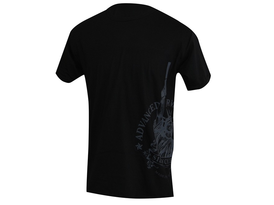 Advanced Armament Co (AAC) LibertTee Sideprint T-Shirt Short Sleeve Cotton Black Large