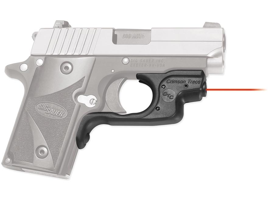 Crimson Trace Laserguard Laser Sig Sauer P238, P938 Polymer Black