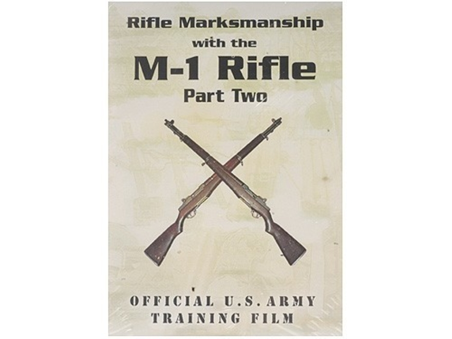 "Gun Video ""Rifle Marksmanship with the M-1 Rifle: Part 2"" DVD"