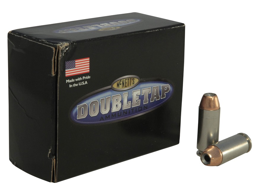 DoubleTap Ammunition 10mm Auto 180 Grain Controlled Expansion Jacketed Hollow Point Box...