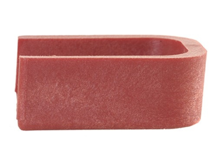STI Magazine Base Pad STI-2011, SVI Competition-Style Polymer Red