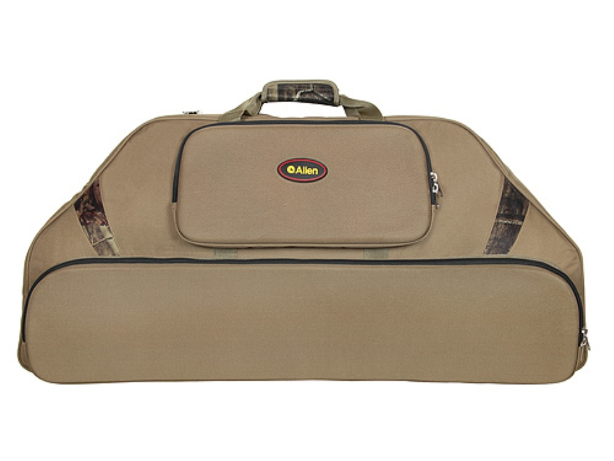 "Allen 39"" Outfitter Bow Case with 3 Pockets Nylon Olive Drab and Mossy Oak Break-Up Inf..."