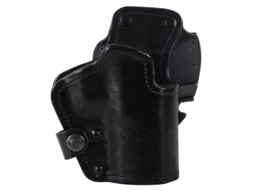 Front Line LKC 3-Layer Belt Holster Right Hand Glock 20, 21 Suede Lined Leather and Kyd...