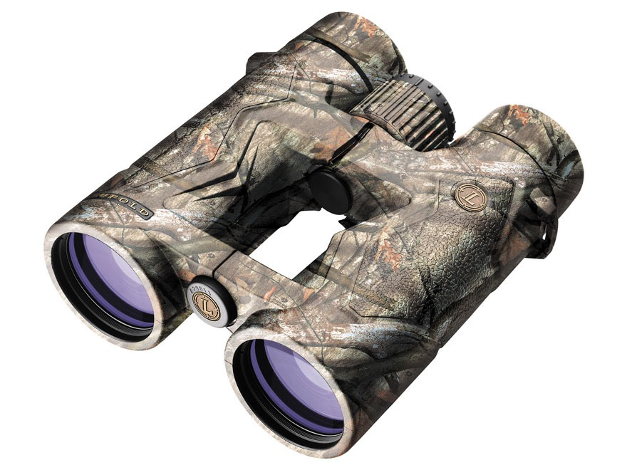 Leupold BX-3 Mojave Binocular 10x 42mm Roof Prism Armored Mossy Oak Treestand Camo