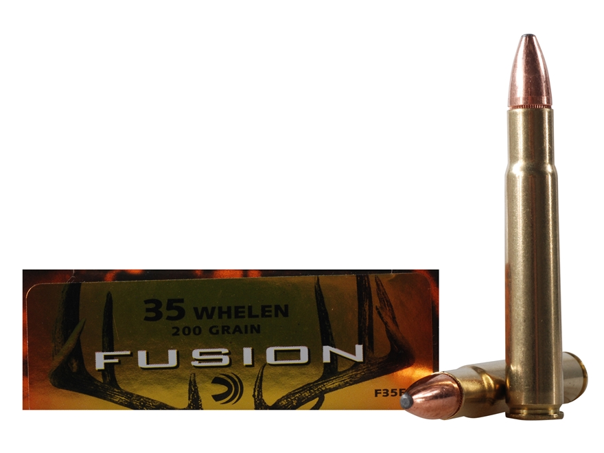 Federal Fusion Ammunition 35 Whelen 200 Grain Spitzer Boat Tail Box of 20