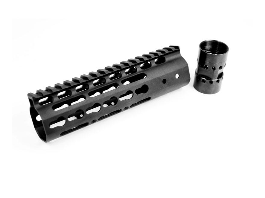 Noveske NSR KeyMod Customizable Free Float Handguard AR-15 Aluminum Black