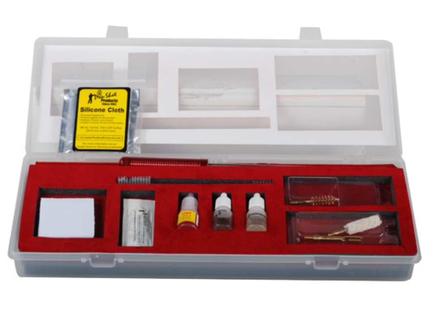 Pro-Shot Classic Professional Pistol Gun Cleaning Kit 38, 357 Caliber 9mm