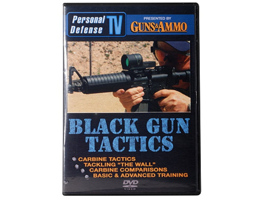 "Personal Defense TV ""Black Gun Tactics"" DVD"