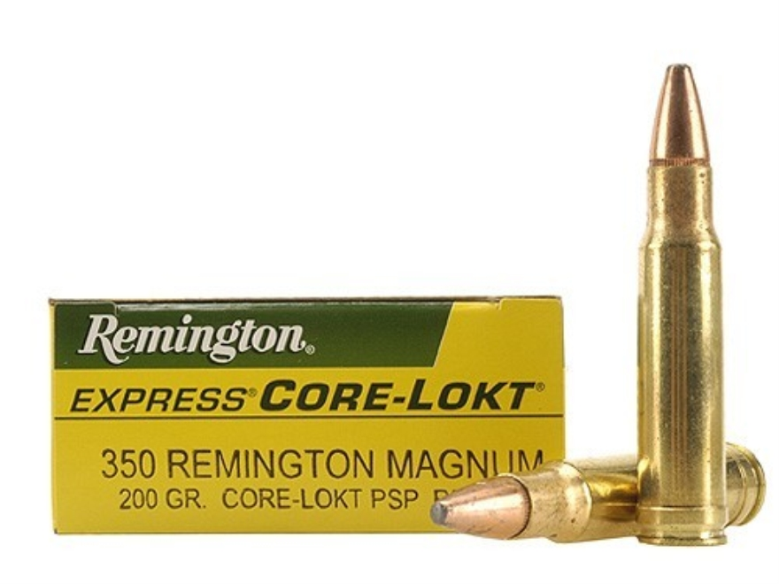 Remington Express Ammunition 350 Remington Magnum 200 Grain Core-Lokt Pointed Soft Poin...