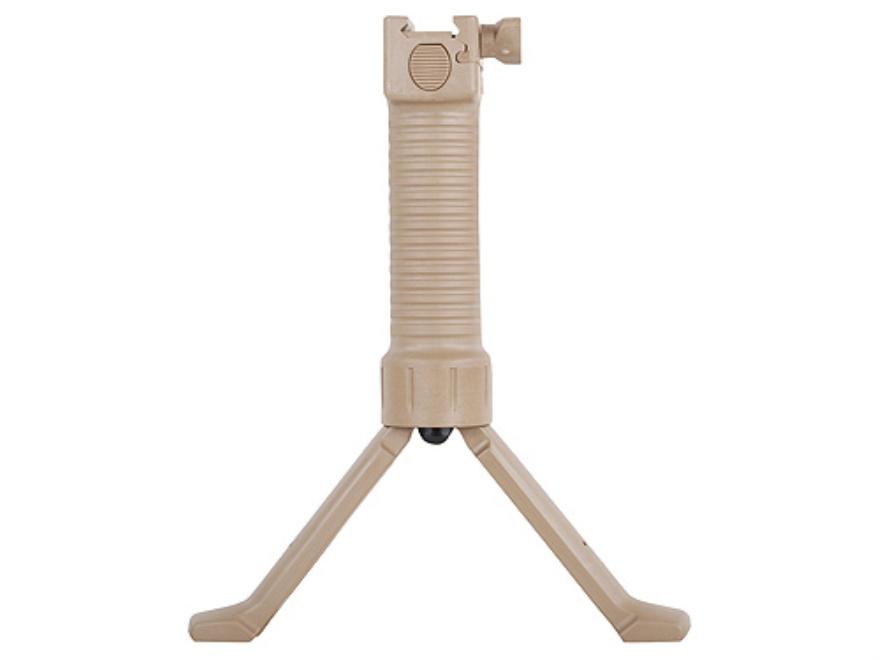 Grip Pod Vertical Grip Bipod Polymer