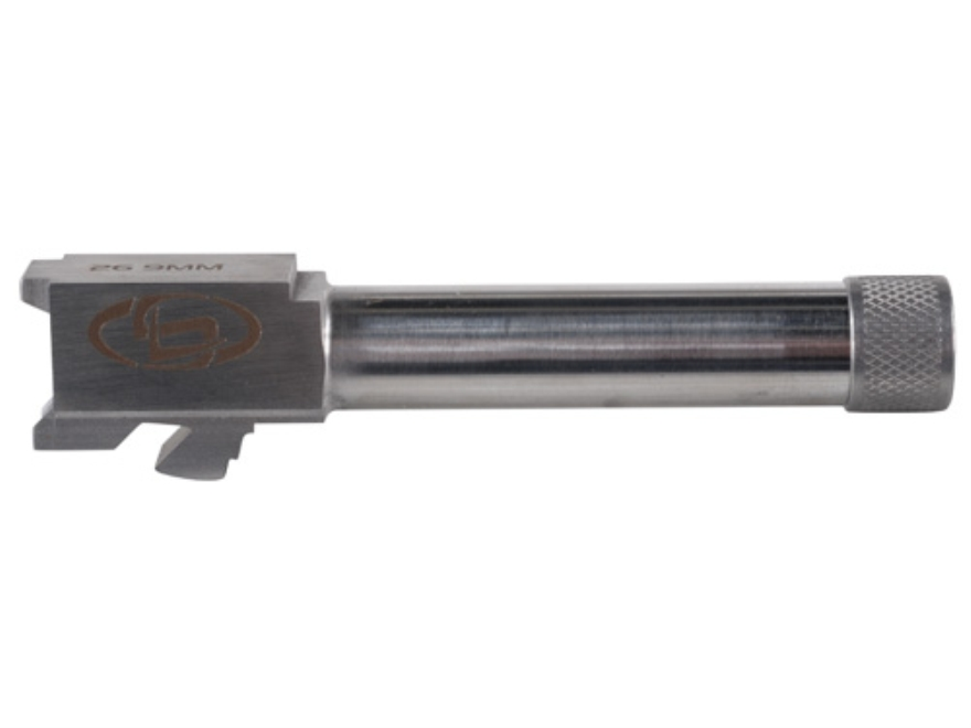 "Storm Lake Barrel Glock 26 9mm Luger 1 in 16"" Twist 4.16"" Stainless Steel 1/2""-28 Threa..."