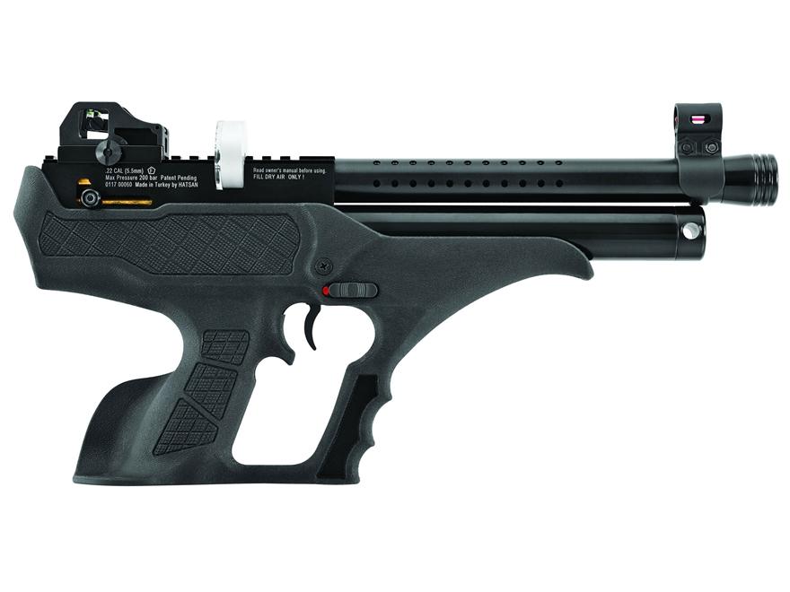 Hatsan Sortie Air Pistol Pellet Black Synthetic Grip Black Frame