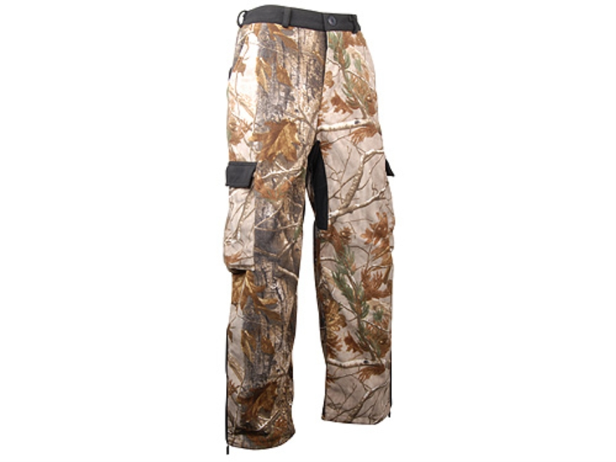 Stormkloth II Men's SKII Waterproof Fleece Pants Polyester Realtree AP Camo Medium