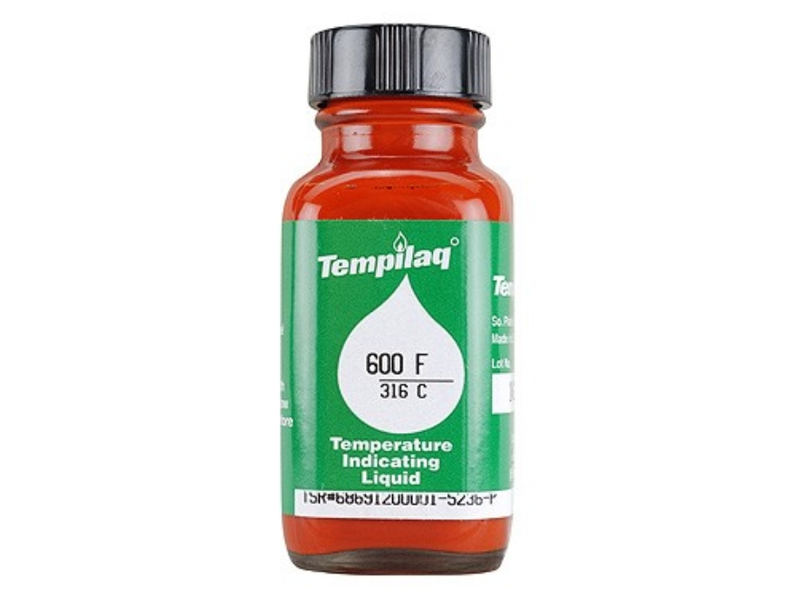 Tempilaq Temperature Indicator 600 Degree 2 oz