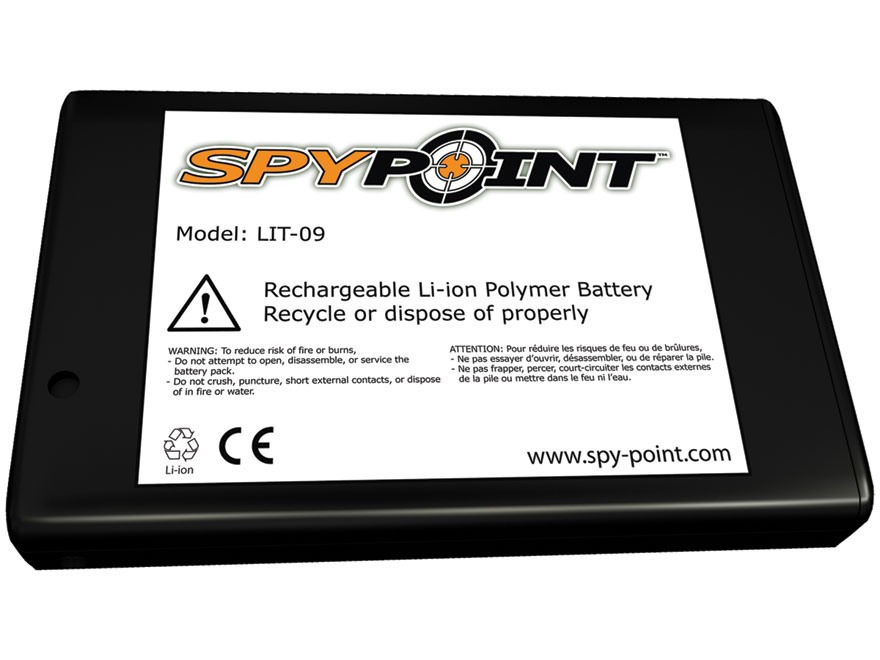 Spypoint Rechargeable Lithium Battery for Spypoint Cameras