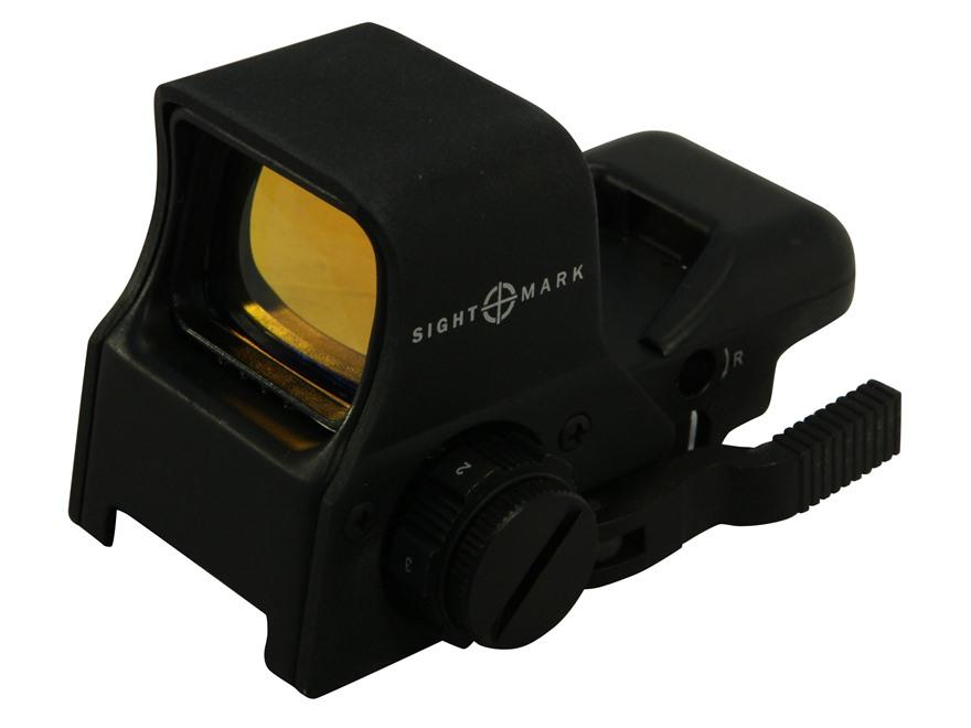Sightmark Ultra Shot Pro Spec Night Vision Red Dot Sight 1x Quick Detach 4 Pattern (Dot...