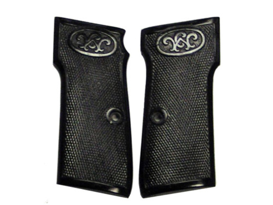 Vintage Gun Grips Walther #4 Late-Style 32 ACP Polymer Black