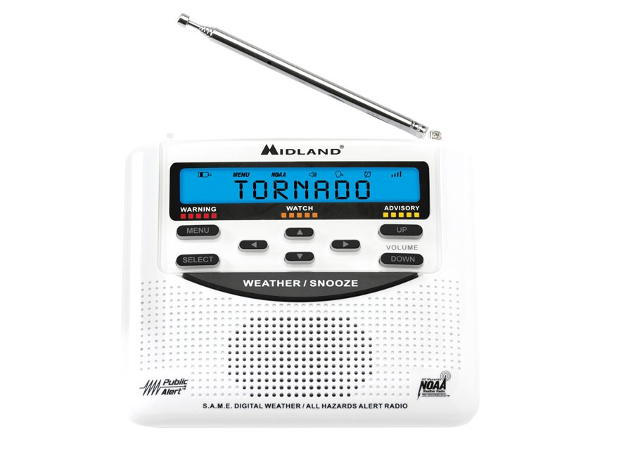 Midland WR-120 Desktop Weather Alert Radio
