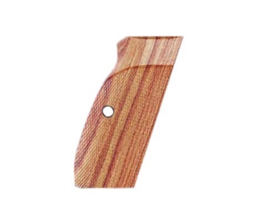 Hogue Fancy Hardwood Grips CZ 75, CZ 85, Springfield P9 Checkered