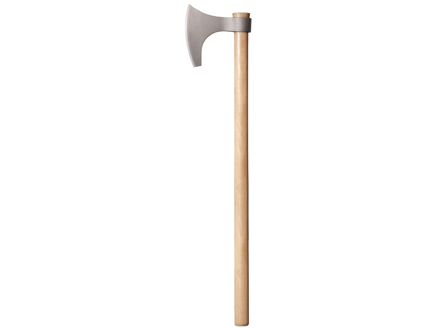 "Cold Steel Viking Hand Axe 30"" Overall Length 1055 Carbon Blade Hickory Handle"