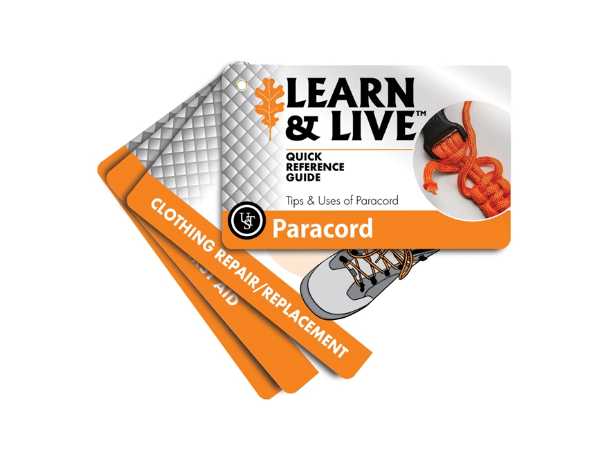 UST Learn & Live Paracord Cards