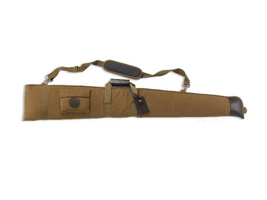 "Beretta Waxwear Shotgun Case 59"" Waxed Cotton/Leather Tan"