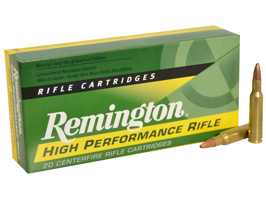 Remington express ammo 222 remington 50 grain pointed soft point box