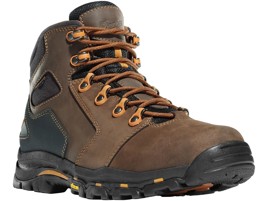 "Danner Vicious 4.5"" Waterproof Uninsulated Hiking Boots Leather and Nylon Brown/Orange ..."