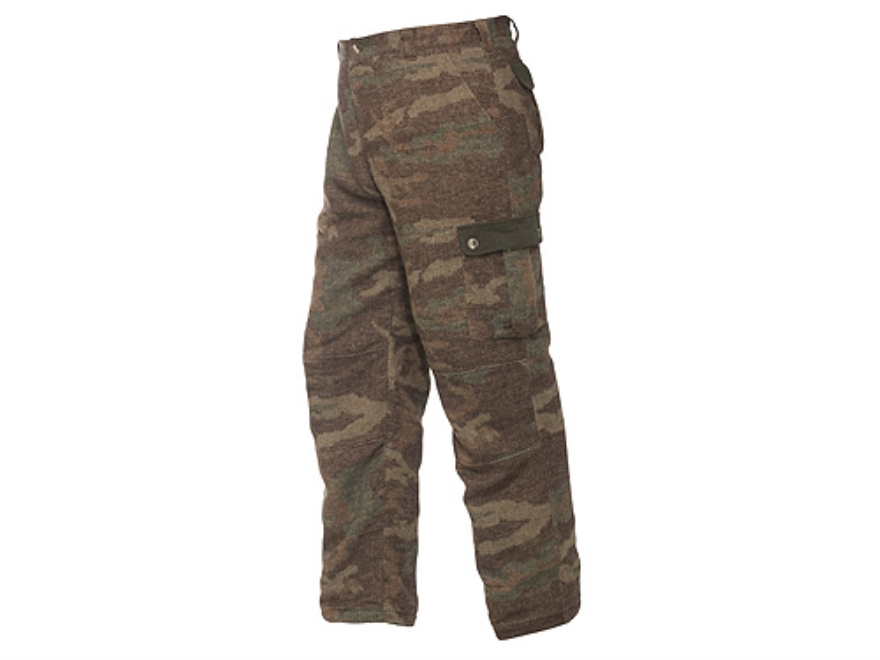 Browning Men's Full Curl Wool Pants Wool Browning All Terrain Camo Medium 32-35 Waist 3...
