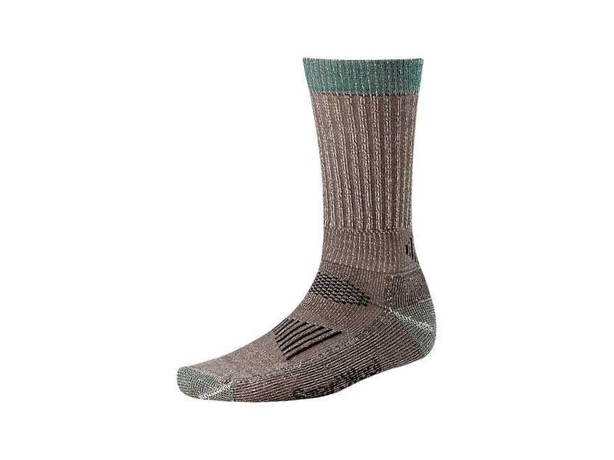 Smartwool Men's Hunt Light Crew Socks Wool Blend Taupe 1 Pair