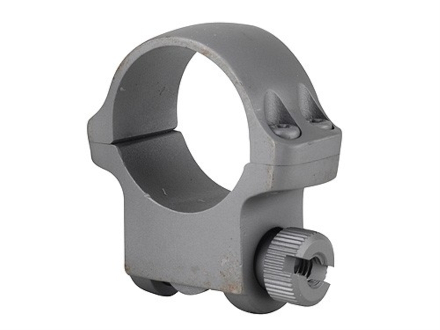 "Ruger 1"" Ring Mount 4KHM Silver Matte Medium"